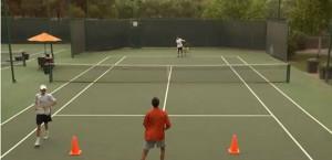 iTUSA- Alternar Derecha Invertida Cruzada alrededor de la pelota con pasos cruzado
