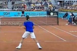 Roger Federer en cámara lenta