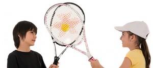 Los benefićios del tenis para los niños