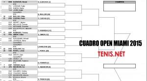 Cuadros Open Miami 2015 para descargar