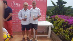 Mariano Peinado se proclama subcampeón en el Campeonato de España de Veteranos.