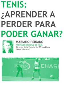 Entérate de mi articulo en la revista Enreda-T del Club de Tenis Real Zaragoza